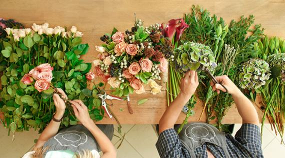Composition florale Aix Les-Milles