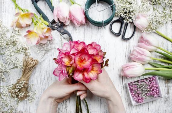 Fleuriste abonnement entreprise Aix Les-Milles